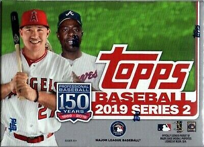 2019 Topps MLB Series Two Complete Set #351-700  ~ 350 cards Free shipping!!