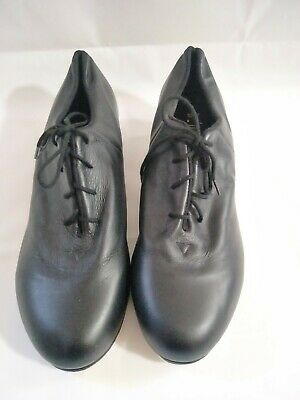 NEW BLOCH Size 12 M  black leather dancing shoes