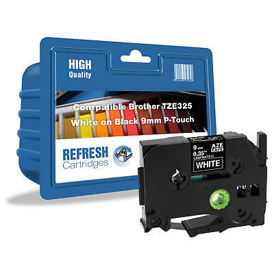 Refresh Cartridges Tze-325 Compatible With Brother Label Printers