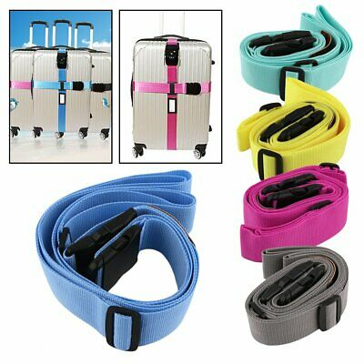 Secure Separable Strap Adjustable Luggage Band with Password Lock Travel KitS0