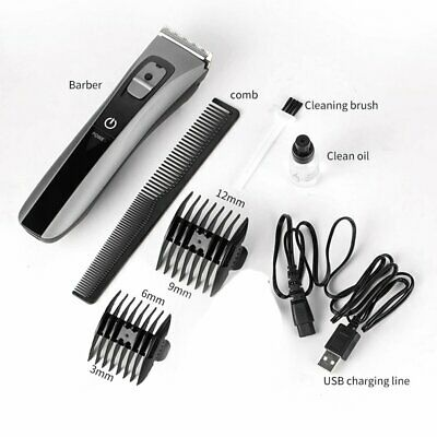 Waterproof Household Ceramic Cutter Head Hair Clipper Electric Hair TrimmerS0