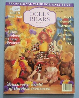 Australian Dolls Bears and Collectables Magazine Volume 3 No 6
