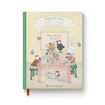 Ruby Red Shoes 2020 Diary By Kate Knapp 9326494020555