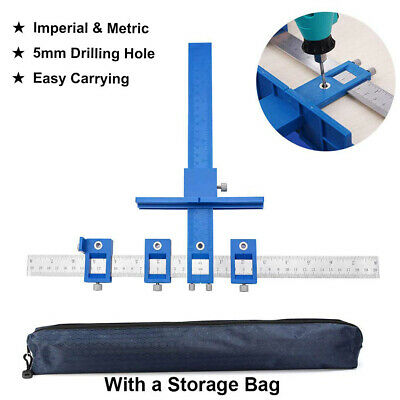 DIY Guide Sleeve Hardware Jig Pull for Wood Drilling Punch Locator Drill Tool FD