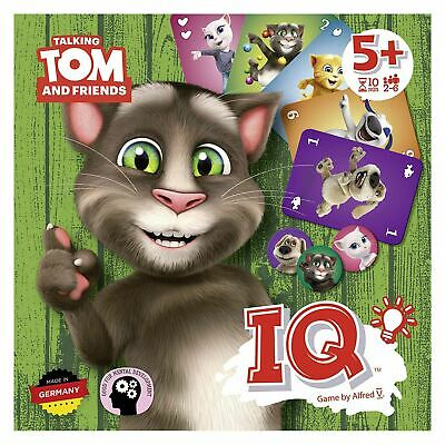 Talking Tom IQ Kids Easy Fun Family Card Game Collect Points 2-6 Players Age 5+