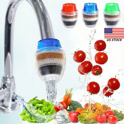 Water Filter Faucet Filtration Tap Purifie For Kitchen 16-19mm Sink Bathroom