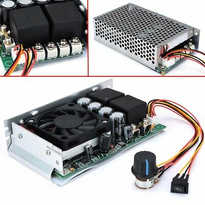Variable DC  Motor Speed Controller Regulator 100A 3000W 10-50V PWM Control Tool