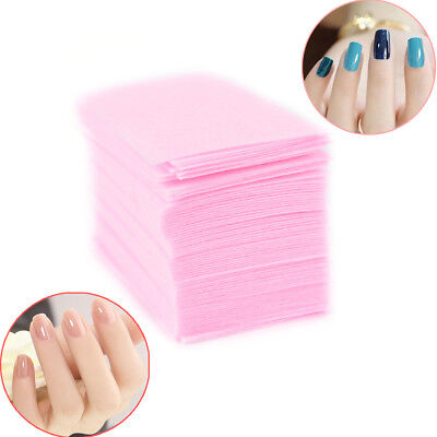 Nail Polish Remover Cleaner Manicure Wipes Lint Free Cotton Pads Paper Nai KY