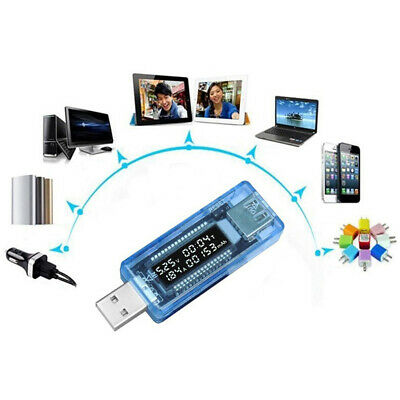 Current Voltage Capacity Tester USB Volt Power Bank Capacity Doctor Met KY