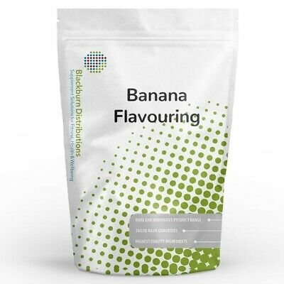 500G Banana Flavouring - Natural Food Flavouring - Uk Stocked - Free Delivery