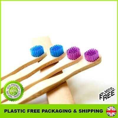 🌿Eco Toothbrush Bamboo Tongue Cleaner 🌿Brush Natural Wood Scraper MUST HAVE UK