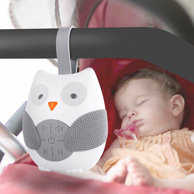 Owl White Noise Generator Sound Machine Spa Easy Sleep Baby Relax Therapy Kids