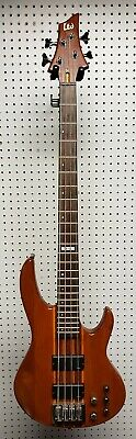 ESP LTD D-4 4 String Natural Electric Bass Guitar