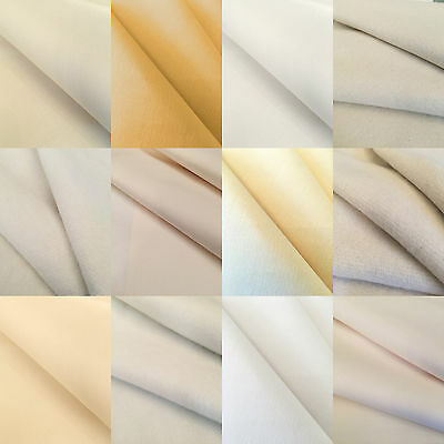 Curtain Lining Interlining Fabric Cotton Synthetic Bonded Linings Sold Per Metre