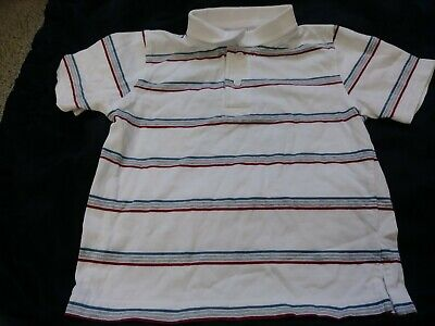 Boys GYMBOREE Polo Shirt JULY 4TH Spring Size 2T Top Collared Spring Summer Fun!