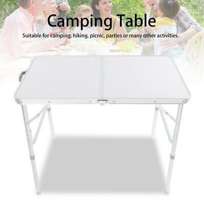 3Ft Heavy Duty Folding Table Outdoor Camping Hiking Trestle Party Garden Desk