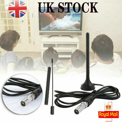 2019 Best Portable TV Antenna Indoor Outdoor Digital HD Freeview Aerial Ariel UK