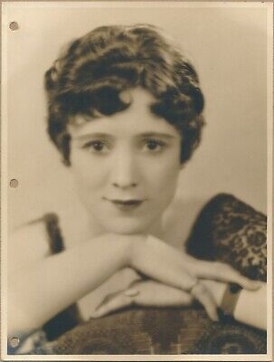 C 1920s Photo BARBARA BROWN CHARACTER ACTRESS Stage & Screen