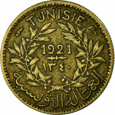 [#318257] Coin, Tunisia, Anonymous, 50 Centimes, 1921, Paris, EF(40-45)