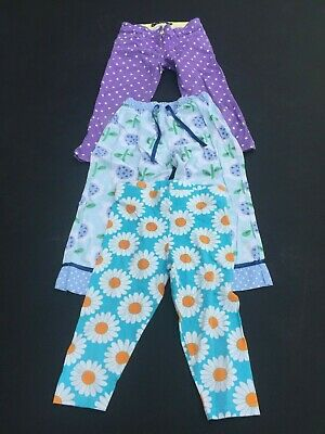 3 X Mini Boden Girls Trousers  Age 7-8