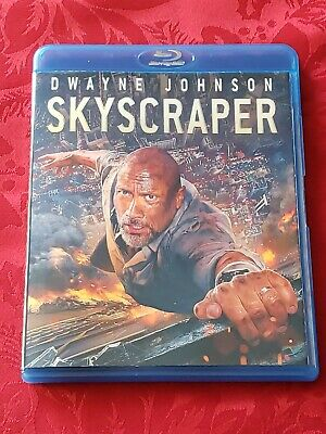 SKYSCRAPER on Blu-Ray ONLY / From 3D Blu-Ray Combo-Pack