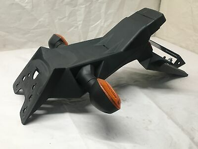 Suzuki GSR 750 Back Tail Mount Number Plate Holder Blinker **Good Condition**