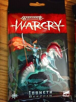 Warhammer AoS WarCry Idoneth Deepkin Faction Cards Pack New Sealed