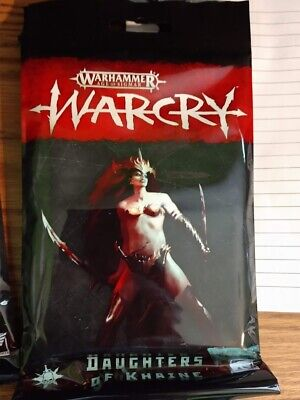Warhammer AoS WarCry Daughters of Khaine Faction Cards Pack New Sealed