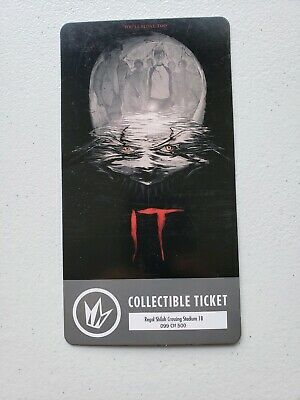 Regal IT Movie Collectible Ticket #'d to 500 Free Shipping
