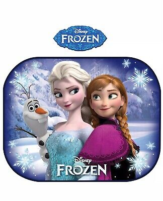 2 Disney Frozen Car Sun Shades UV Baby Children Kids Window Visor