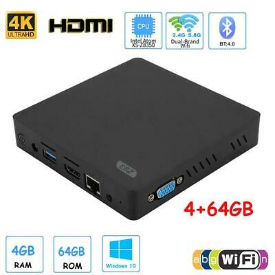 Z83 for Win10 Mini PC Computer 4+64G for Intel X5-Z8350 HDMI+VGA WIFI 2.4G+5G WO
