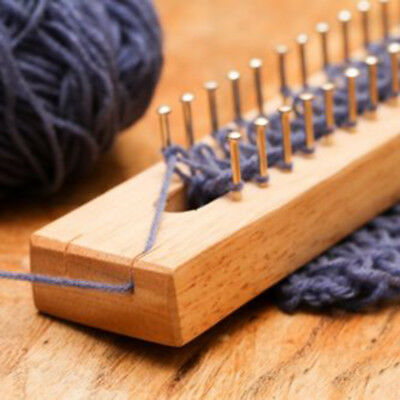 Useful Wood Knitting Loom Knitting Rod Board Knitting Loom Tools New Needle Gift