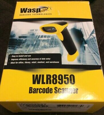 Wasp  Barcode Scanner WLR8950 Long Range CCD (USB  Cable Incl) 12 Inch Scanning