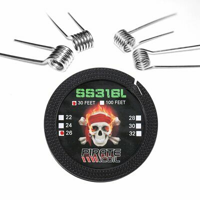 DIY Coils Kit 316L Stainless Steel for Craft Hobby Use Household Wire Set BO