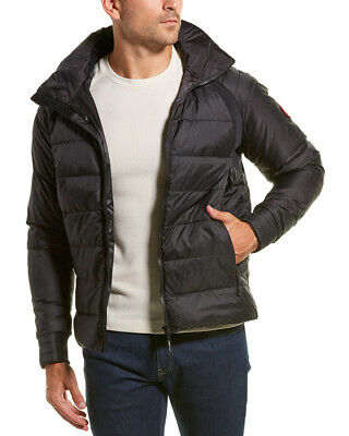 5d131c579c3 CANADA GOOSE HYBRIDGE Down Jacket Men's Small S Black Puffer Soft ...