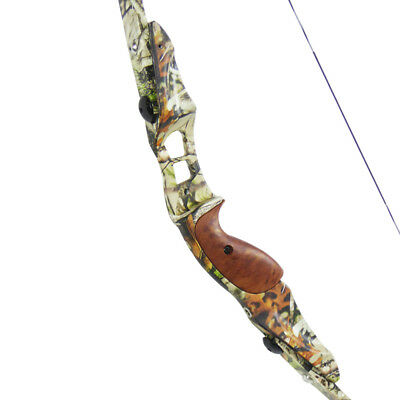 """Old Tradition Rapace - Arc traditionnel recurve démontable 60"""" Camo - 45# Chasse"""
