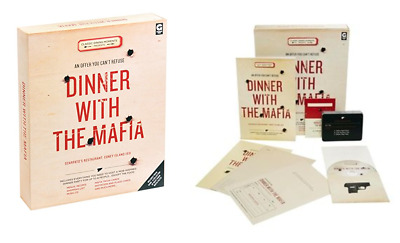 Host Your Own Mystery Dinner Party With The Mafia Game Invite Theme 6-8 Players