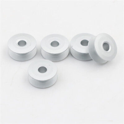 10pcs 21mm Industrial Sewing Machine Bobbins Tools Aluminum Accessor KY