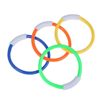 1PC Summer Underwater Diving Rings Swimming Pool Kids Dive Ring Water Play ^ KY