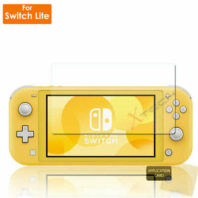Clear LCD Screen Protector Guard Cover + Cloth for Nintendo Switch Lite Console