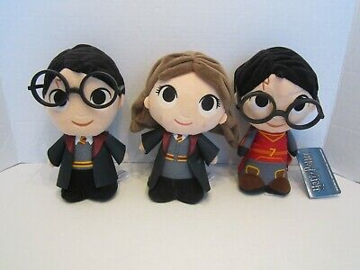 Lot of 3 Funko Plushie Hermione Harry Funko Pop Harry Potter Collection