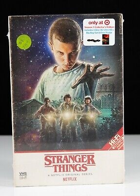 New Stranger Things Season 1 Collector's Edition 4 DVD Set - Target Exclusive