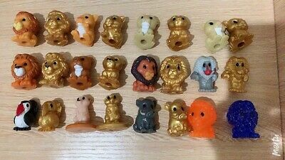 Disney The Lion King Woolworths Ooshies Full Set Of 24 without Collectors Case