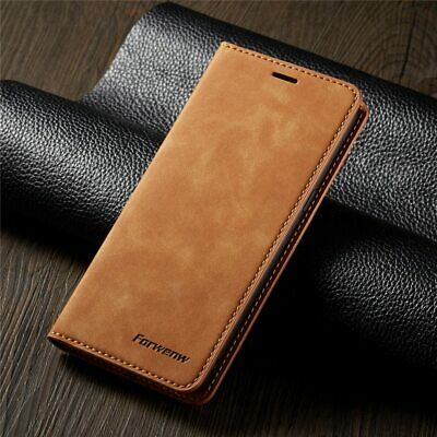 For Samsung Galaxy Note 10+ Pro 9 Luxury Magnetic Leather Flip Wallet Case Cover