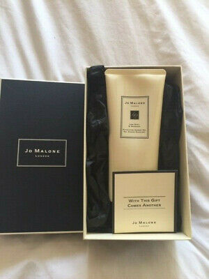 Jo Malone Lime Basil Mandarin Exfoliating Shower Gel Boxed NEW See description