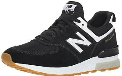 Details about New Balance 574 Sport Men New Black White Casual Lifestyle Sneakers MS574 FCB