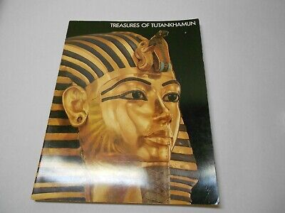 Treasures of Tutankhamun 1976 Paperback Metropolitan Museum of Art Egypt Pyramid
