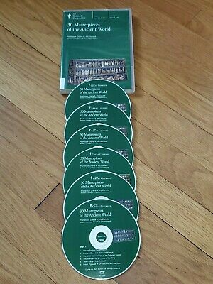 The Great Courses - 6-DVD Disc Course - 30 Masterpieces of the Ancient World