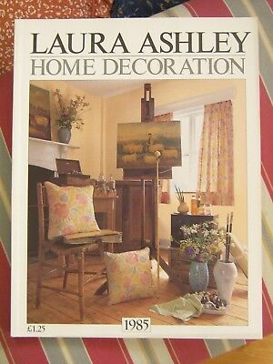 LAURA ASHLEY Vintage 1985 Home Furnishings / Home Decoration Catalogue - RARE