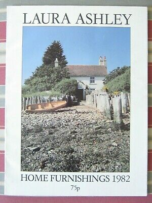 LAURA ASHLEY Vintage 1982 Home Furnishings / Home Decoration Catalogue - RARE